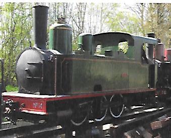 locomotive vapeur train picodon drome provençale